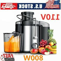 600W/ 800W Electric Fruit Juicer Machine Vegetable Extractor