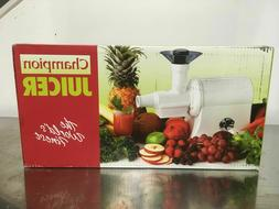 Champion Juicer G5-PG710 - Commercial Heavy Duty Juicer, Whi