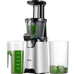Aicok Juicer Auger Slow Masticating Juicer for Smooth and Hi