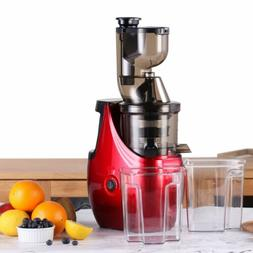New Whole Slow Masticating Juicer Cold Press Quiet Durable R